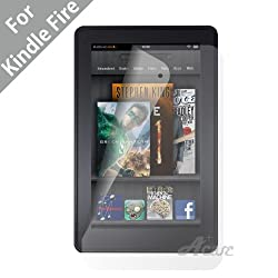 Acase Amazon Kindle Fire Screen Protector Film - Premium Clear (Invisible) (3 Pack)