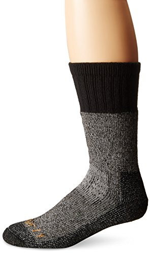 Carhartt Men's Extremes Cold Weather Boot Socks,  BlackHeather, Shoe: 5-10