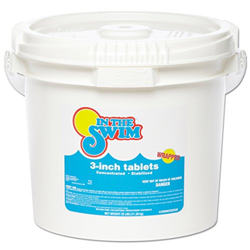 In The Swim 3 Inch Pool Chlorine Tablets 25 lbs. (Bucket Of Chlorine compare prices)
