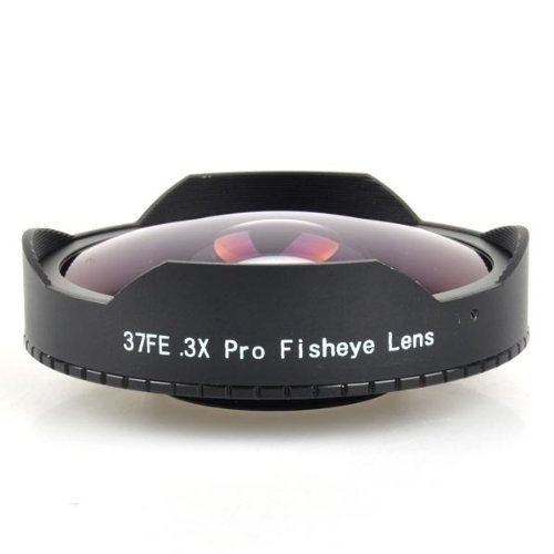 Neewer Black 0.3X Baby Death 37mm Video Ultra Digital Camera Fisheye Lens for Camcorders