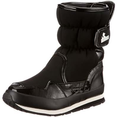 Rubber Duck SnowJoggers Sporty Women's Winter Boots Black