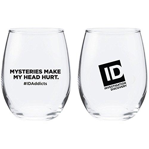 Id Addicts Mysteries Stemless Wine Glass