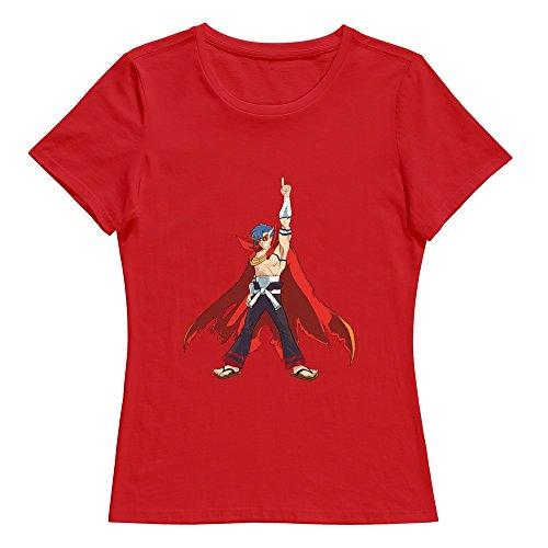 KST -  T-shirt - Donna rosso XL