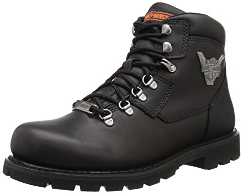 Harley-Davidson Men's Glenmont Motorcycle Lace To Toe Boot, Black, 13 M US