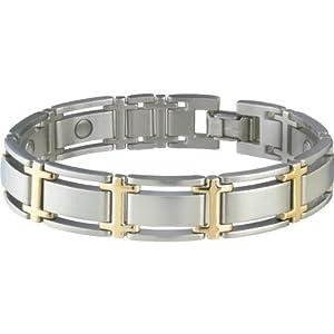 Buy Sabona Executive Symmetry Duet Magnetic Bracelet (Various Sizes) by Sabona