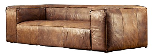 The Wood Times 15-CN2004/3 Anilinledersofa
