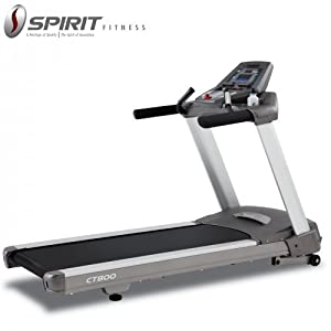Spirit Fitness CT 800 Commercial Treadmill with service centres all over India available at Amazon for Rs.188000