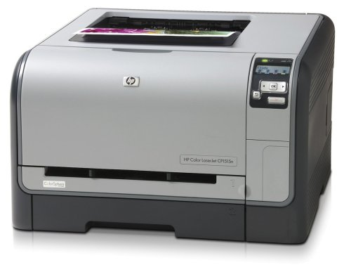 HP Color LaserJet CP1515n - Printer - colour - laser - A4 - 600 dpi x 600 dpi - up to 12 ppm (mono) / up to 8 ppm (colour) - capacity: 150 sheets - USB, 10/100Base-TX