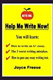 img - for Help Me Write Now! (Introduction to Writing Essays Book 1) book / textbook / text book
