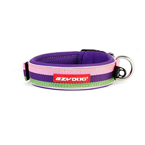 EzyDog Neo collare di cane, Extra Large (53-61cm), Bubblegum