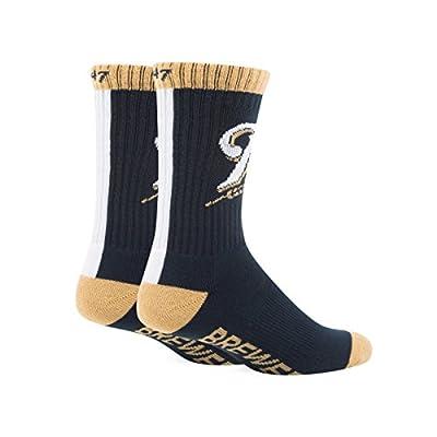 Milwaukee Brewers Bolt Sport Sock - Navy