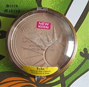 Wet n Wild Coloricon Bronzer with SPF 15, RESERVE YOUR CABANA (Pack of 3)