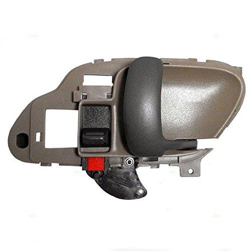 Passengers Inside Inner Tan Door Handle Replacement for Chevrolet GMC Pickup Truck SUV 15708044 (Silverado Inner Door Handle compare prices)