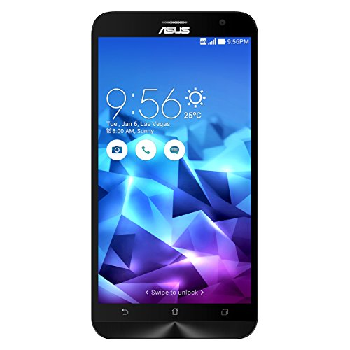 "Asus ZE551ML-2A760WW Smartphone ZenFone 2 Deluxe, 5.5"", 4 GB RAM, 64 GB, Intel Quad-Core Z3580, Dual SIM, Illusion Purple"