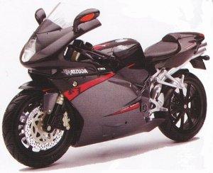 2006 MV Agusta F4 Gray Bike Motorcycle 1/12 by New Ray 42647