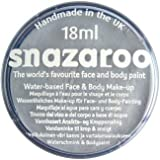 Snazaroo Face Paint 18ml-Light Grey