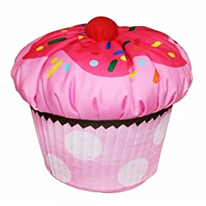 co International Kids Cupcake Bean Bag Pink by Newco Kids