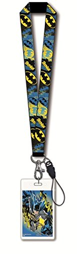 DC Comics Batman Lanyard with Card Holder - 1