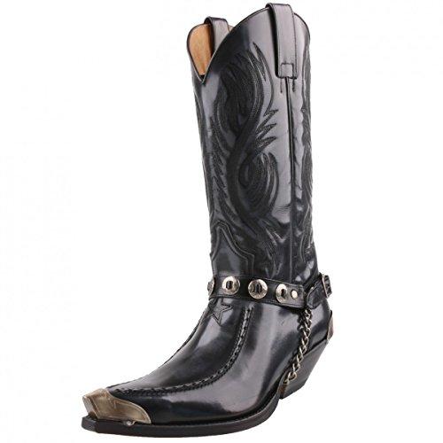 Sendra Boots, Stivali uomo Grigio antracite, Grigio (antracite), 43
