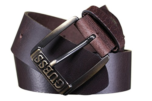guess - CINTURA CASUAL CHIC IN PELLE, Cintura da donna, dkb, XL