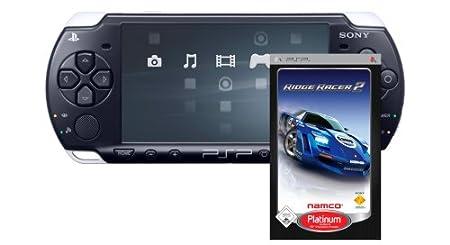 PlayStation Portable - PSP Konsole Slim&Lite Piano Black (Ridge Racer 2 - Platinum Bundle)