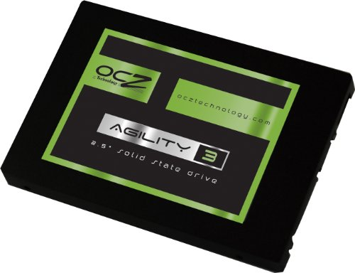 OCZ Technology 60GB Agility 3 Series SATA 6Gb per second 2.5-Inch Midrange Performance Solid State Drive (SSD) with Max 525MB per second Read and Max 80K IOPS- AGT3-25SAT3-60G