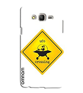 Omnam Vintage Crossing Printed Designer Back Cover Case For Samsung Galaxy On 7