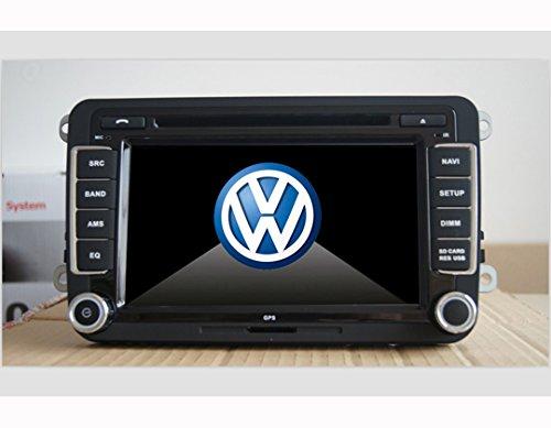 autoradio per volkswagen vw golf 5 con gps 7 pollici gps fm am radio 2 din bluetooth. Black Bedroom Furniture Sets. Home Design Ideas