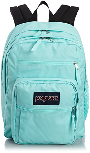 JanSport Big Student Classics Series Backpack - Aqua Dashs