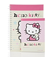 Hello Kitty Set of 2 Notebooks