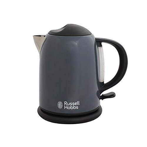 Russell Hobbs Premium Stainless Steel Electric kettle 1.0 L RH-20191 (Gray) (Russell Hobbs Glass Touch compare prices)