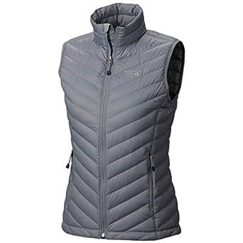 Mountain Hardwear Nitrous Vest - Women's Tradewinds Grey X-Small