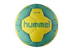Hummel Elite 2016 Handball Ball yellow / green, Color:yellow;größe-ball:3