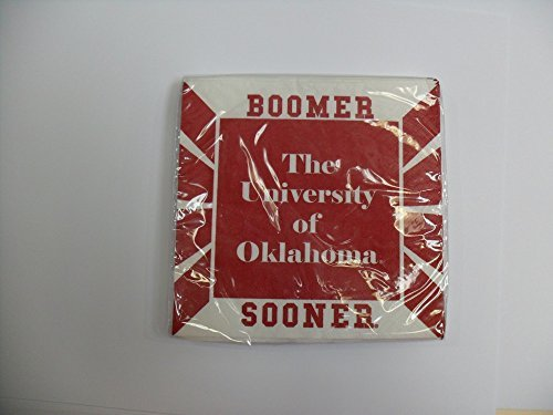 University of Oklahoma Beverage Napkins (9 3/4 x 9 3/4) 16pk