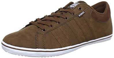 K-Swiss HOF IV VNZ 03013-289-M, Herren Sneaker, Braun (Bison/White), EU 39.5 (UK 6)