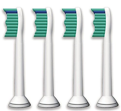 Ronsit 4pcs Electric Toothbrush Heads for Sonicare Proresult Hx6530 Hx6014 Hx6013 (Sonicare Proresults Brush Heads compare prices)