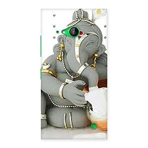 Stylish Ganesha Ji Multicolor Back Case Cover for Lumia 730