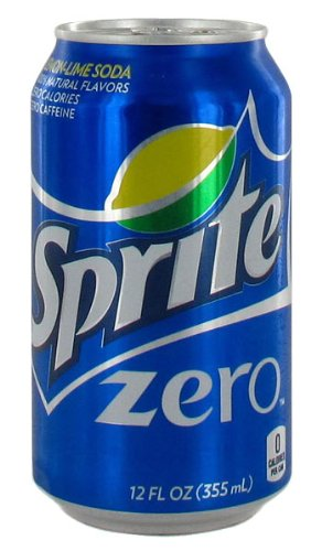 Diet Sprite Zero - 24/12 oz. cans (Sprite Cans compare prices)