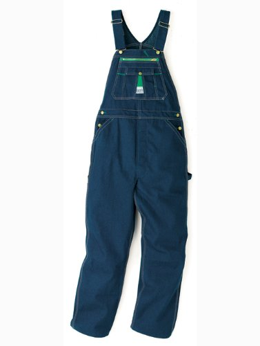 Liberty Men's Rigid Denim Bib Overall, Rigid Denim, 44x30