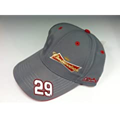 KEVIN HARVICK #29 BUDWEISER FITTED HAT S M by Nascar