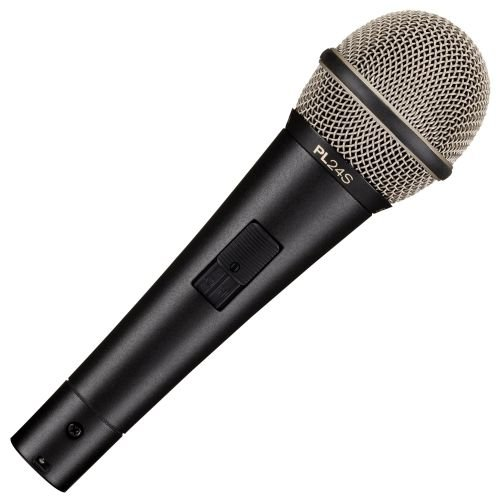 Electro-Voice Pl24S Dynamic Vocal Microphone With Switch