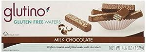 Glutino Chocolate Coated Chocolate Wafers 4.6 OZ (Pack of 8)