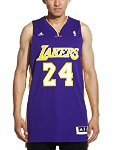 NBA Los Angeles Lakers Kobe Bryant Swingman Jersey, Purple by adidas