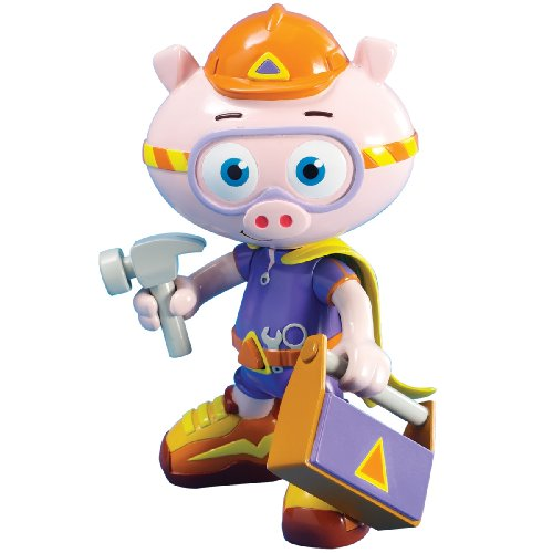 Learning Curve Brands Super Why - Alpha Pig Action Figure - 1