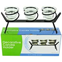 Tea Light Candle Holder Set With Stand