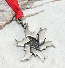 buy Blazers Jewelry 1985 - Star Of David Jewish Pewter Christmas Ornament Holiday