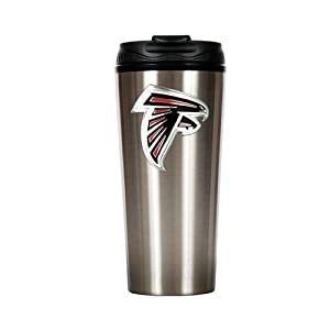 Atlanta Falcons Slim Stainless Steel Travel Tumbler by Great American