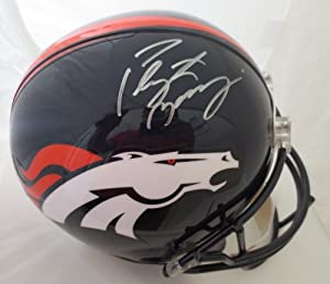 Peyton Manning Autographed Denver Broncos Full Size Signed Helmet Steiner Sports... by Powers Collectibles