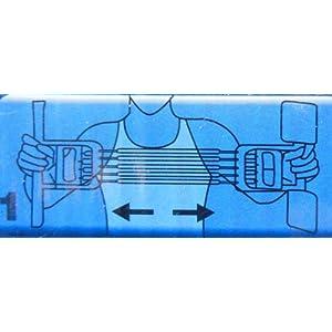 3ファンクション エキスパンダー 多機能 胸筋 握力 背筋力 強化 エクササイズ バネ強度調整可能