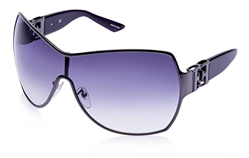 Escada Escada Oversized Sunglasses (Gunmetal) (SES 718|0568|Free Size) (Multicolor)